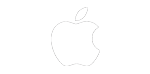 logo apple white