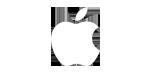 logo apple white