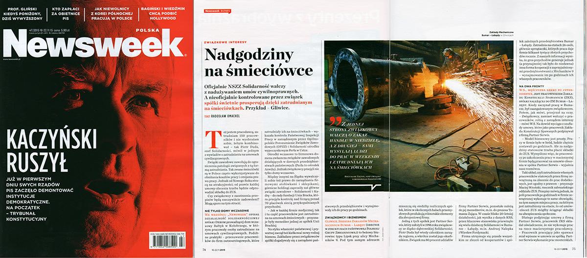 Newsweek Polska 13 11 2015